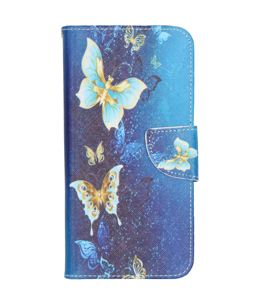 Design Softcase Booktype Huawei Mate 30 Lite
