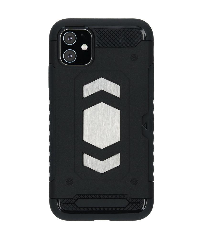 iMoshion Xtreme Backcover met pashouder iPhone 11 - Zwart