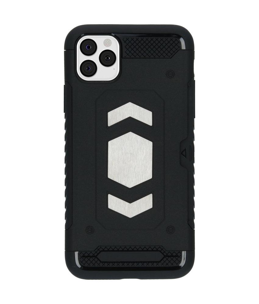 iMoshion Xtreme Backcover met pashouder iPhone 11 Pro Max - Zwart
