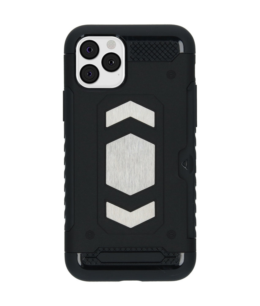 iMoshion Xtreme Backcover met pashouder iPhone 11 Pro - Zwart