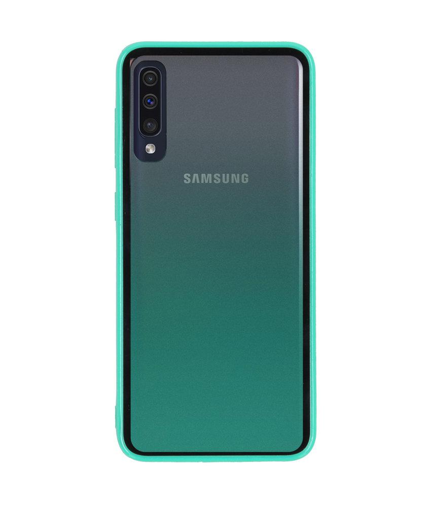 Gradient Backcover Samsung Galaxy A50 - Groen