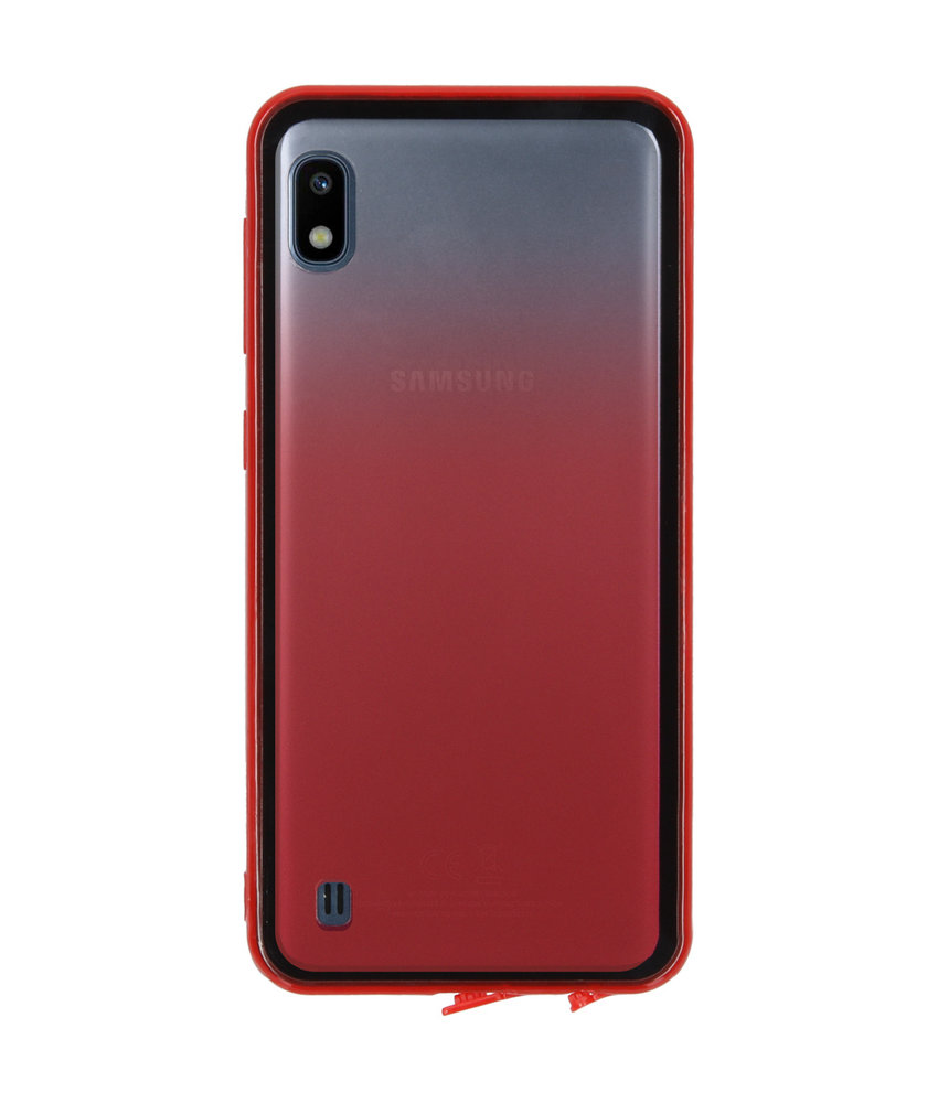 Gradient Backcover Samsung Galaxy A10 - Rood