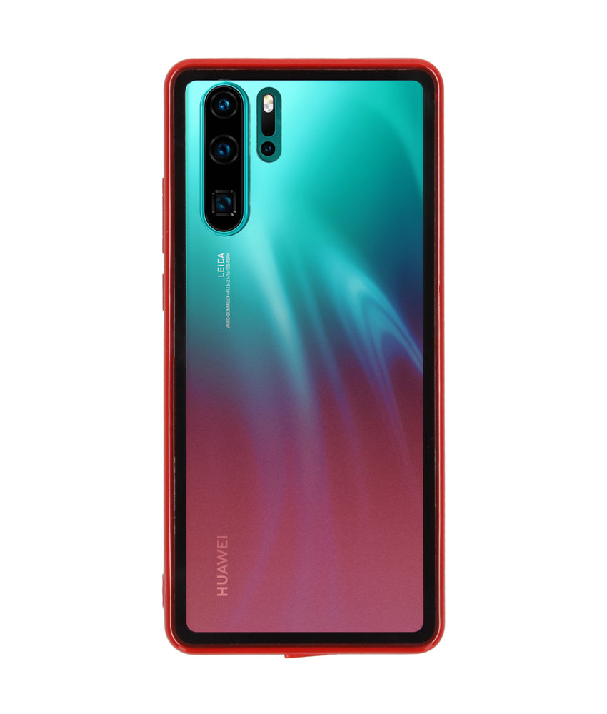 Gradient Backcover Huawei P30 Pro - Rood
