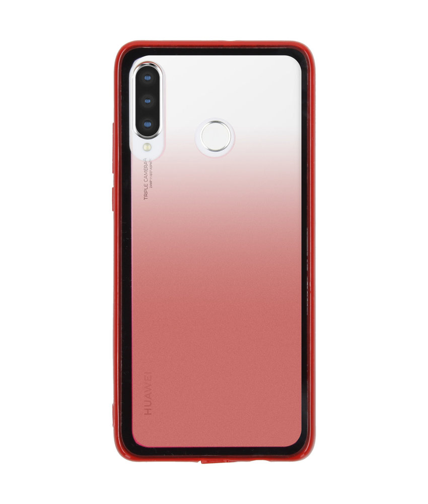 Gradient Backcover Huawei P30 Lite - Rood