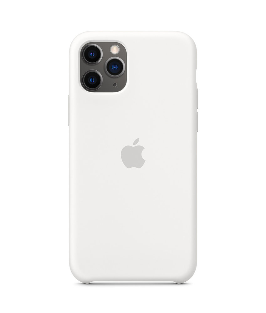 Apple Silicone Backcover iPhone 11 Pro - White
