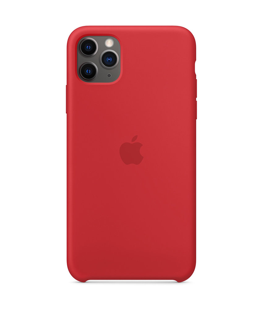 Apple Silicone Backcover iPhone 11 Pro Max - Red