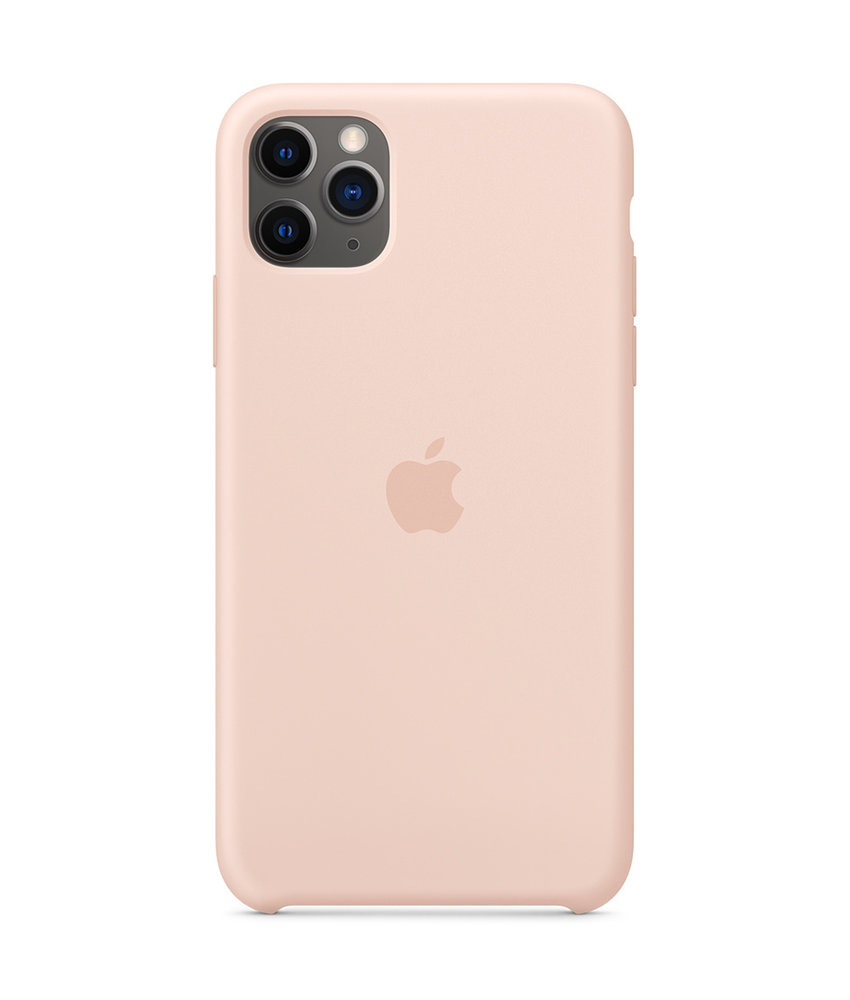 Apple Silicone Backcover iPhone 11 Pro Max - Pink Sand