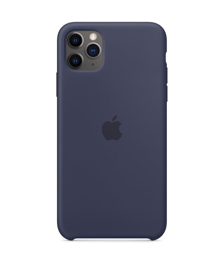 Apple Silicone Backcover iPhone 11 Pro Max - Midnight Blue