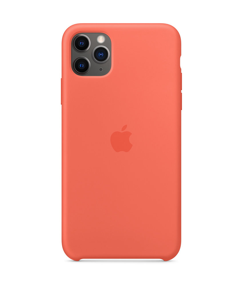 Apple Silicone Backcover iPhone 11 Pro Max - Clementine Orange