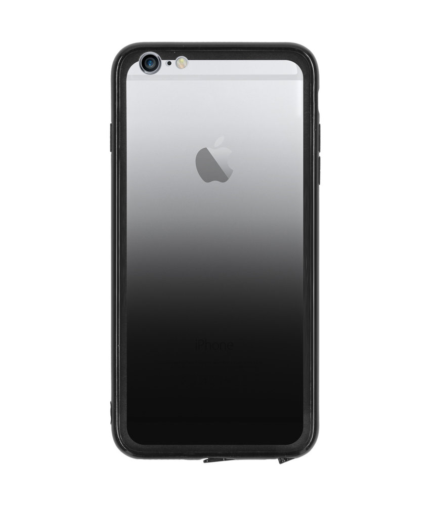 Gradient Backcover iPhone 6(s) Plus - Zwart