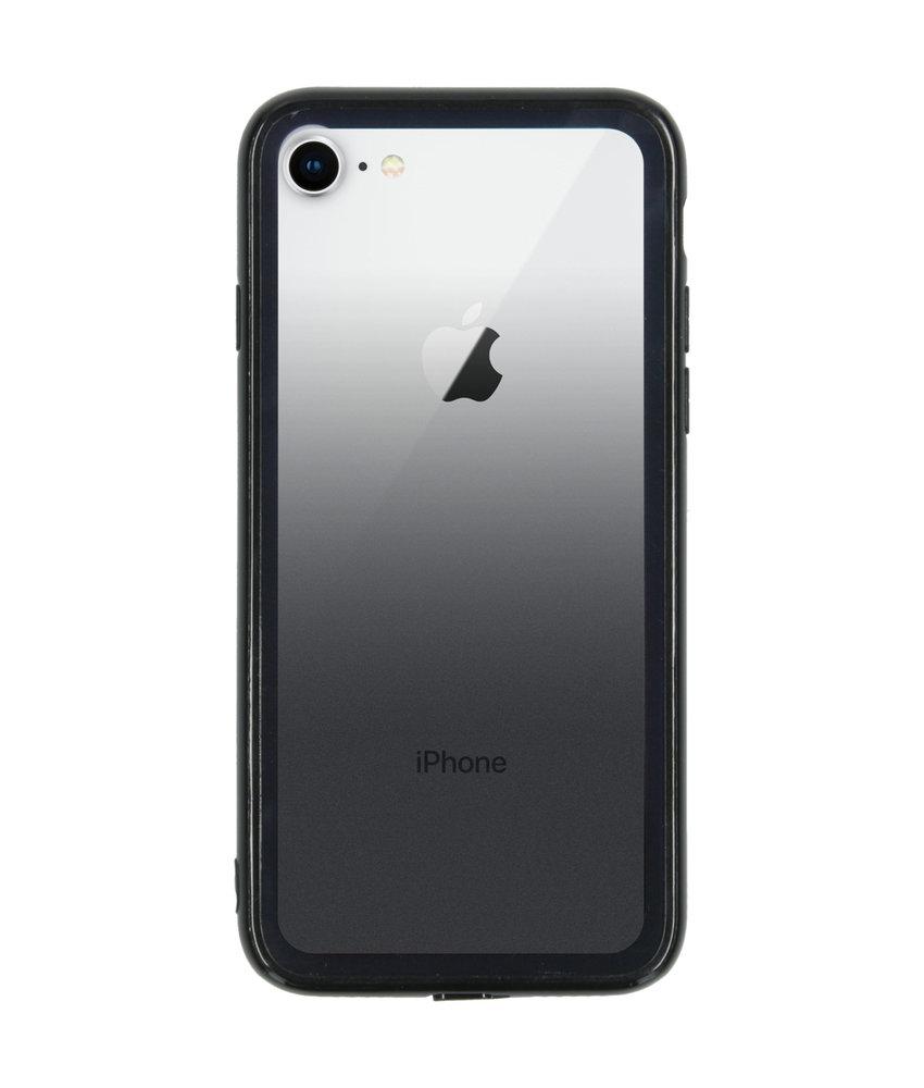 Gradient Backcover iPhone 8 / 7 - Zwart