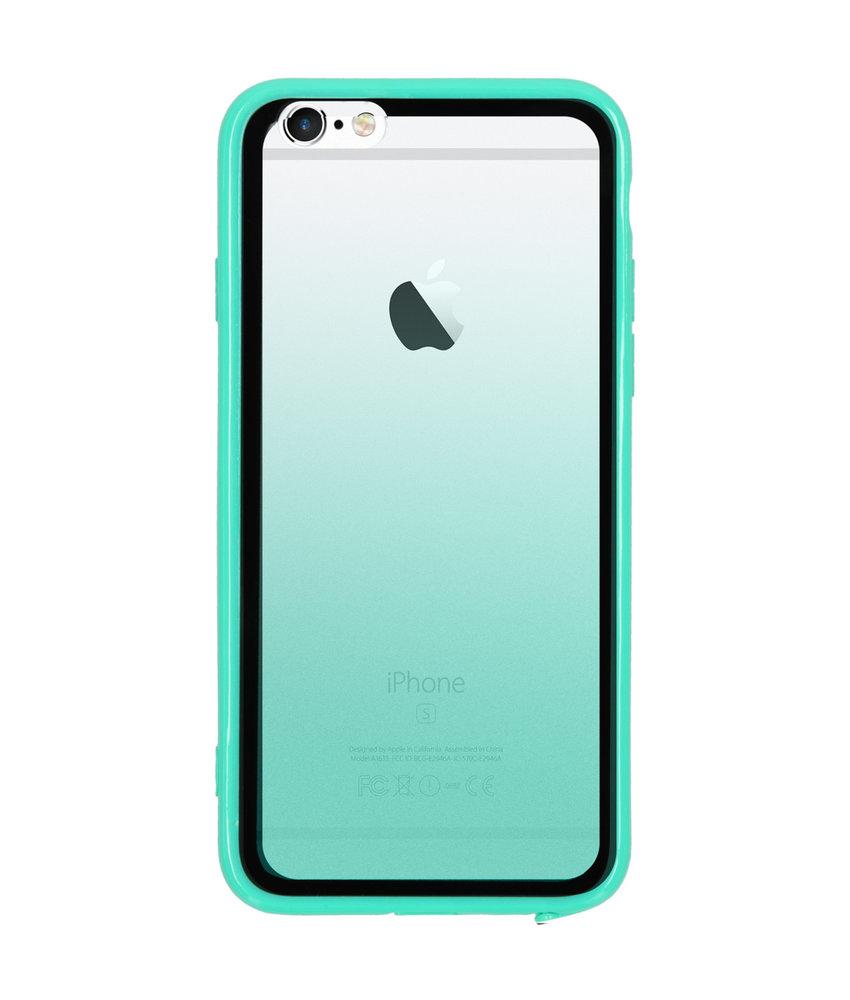Gradient Backcover iPhone 6 / 6s - Groen