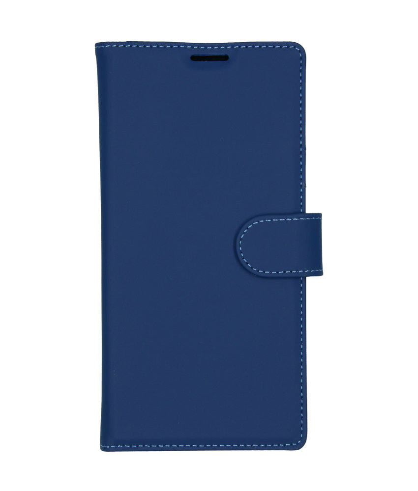 Accezz Wallet Softcase Booktype Samsung Galaxy Note 10 Plus - Blauw