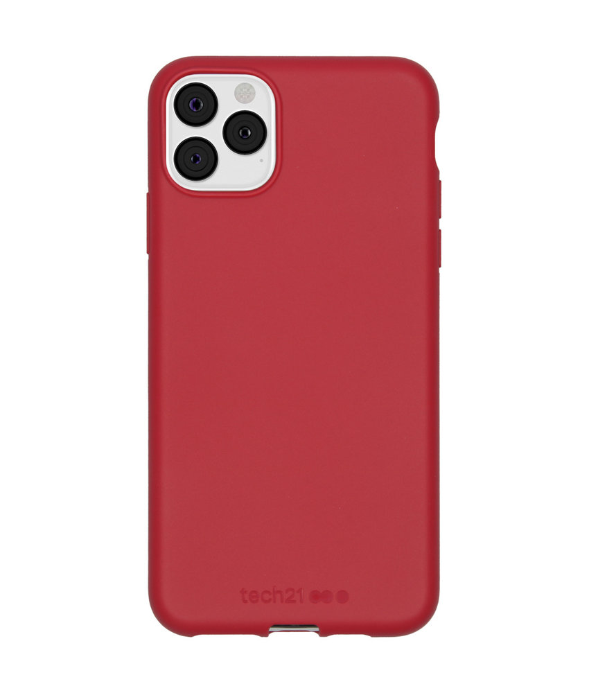 Studio Colour Antimicrobial Backcover iPhone 11 Pro Max - Terra Red