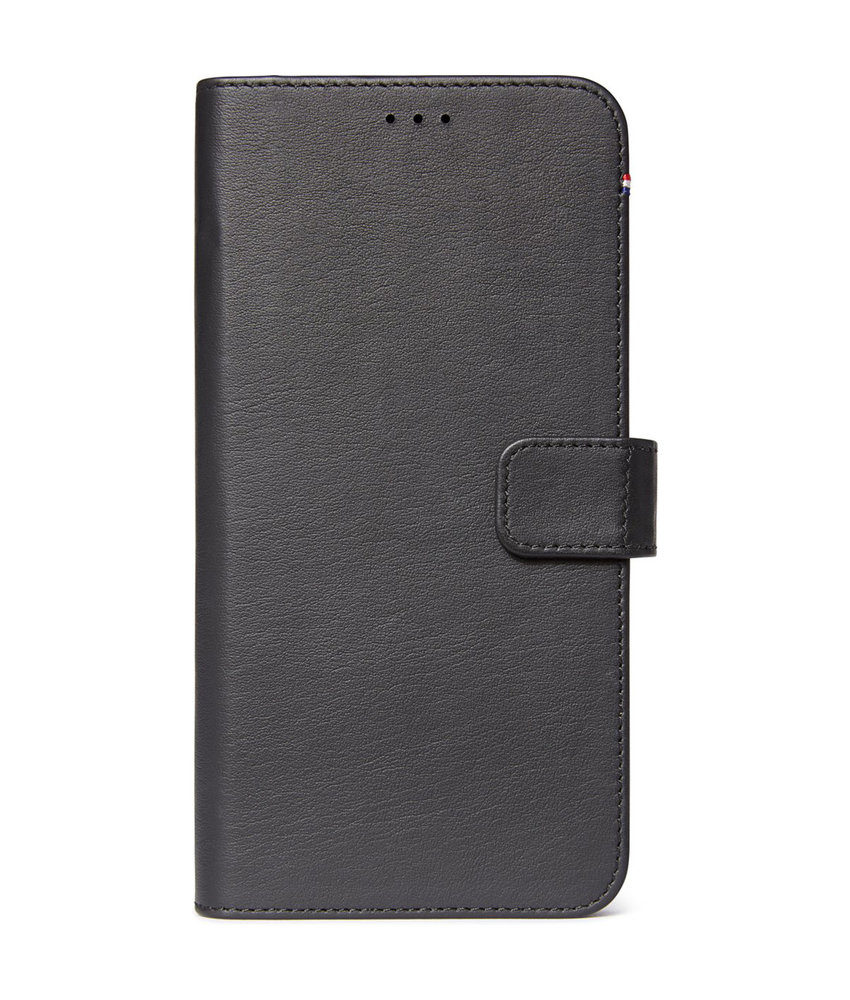 Decoded 2 in 1 Leather Booktype iPhone 11 Pro Max - Zwart
