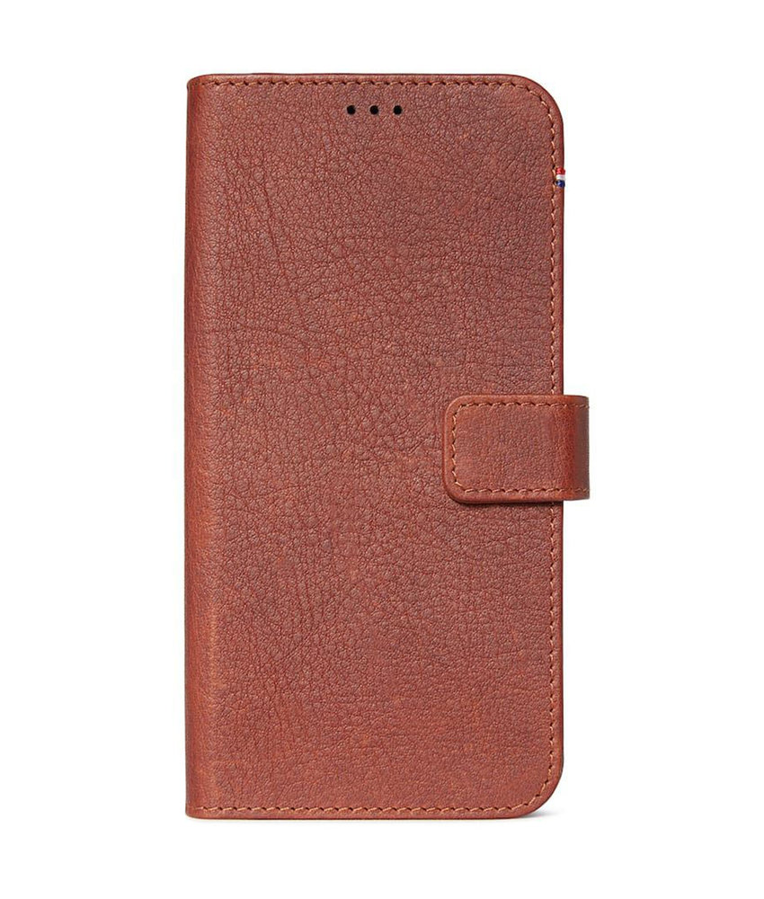 Decoded 2 in 1 Leather Booktype iPhone 11 Pro - Bruin