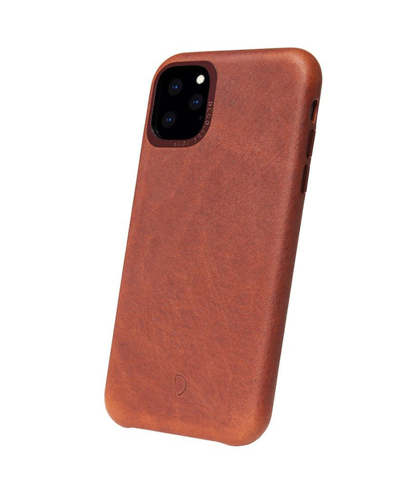 Decoded Leather Backcover iPhone 11 Pro - Bruin