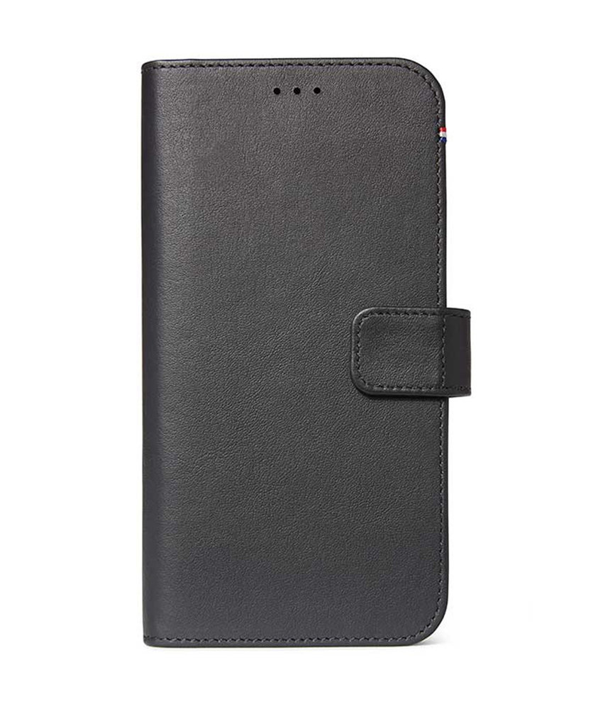 Decoded 2 in 1 Leather Booktype iPhone 11 - Zwart