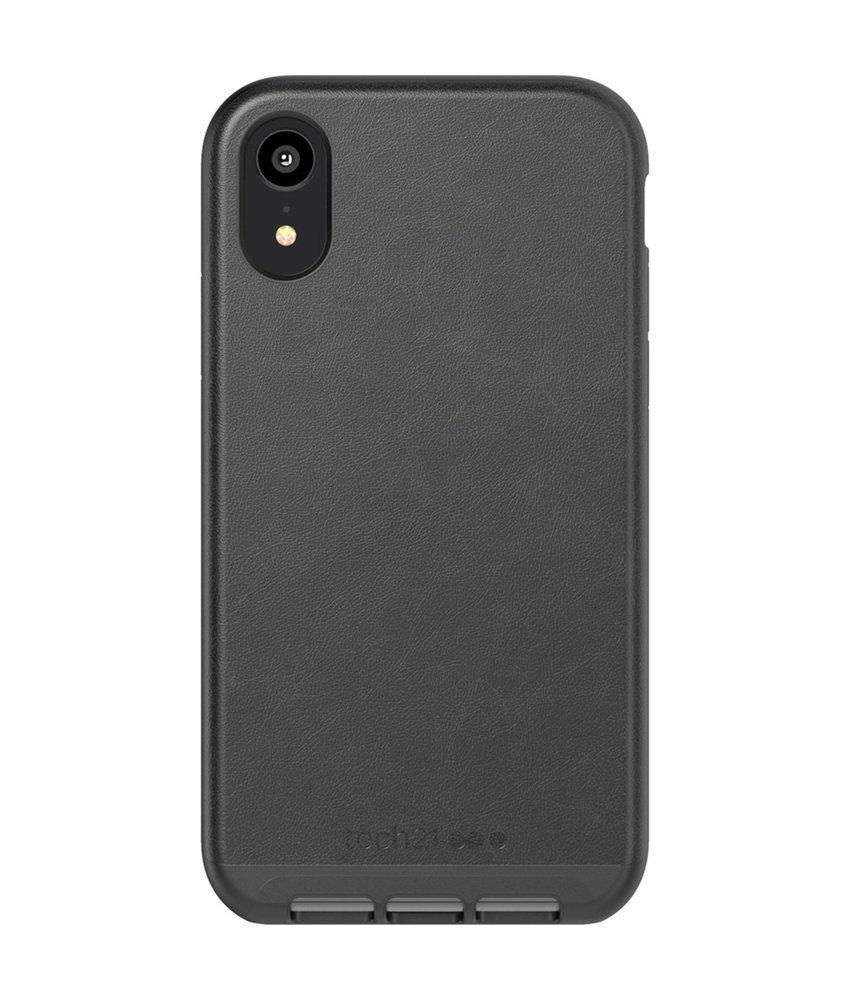 Tech21 Evo Luxe Backcover iPhone Xr - Zwart