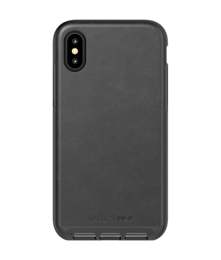 Tech21 Evo Luxe Backcover iPhone Xs / X - Zwart