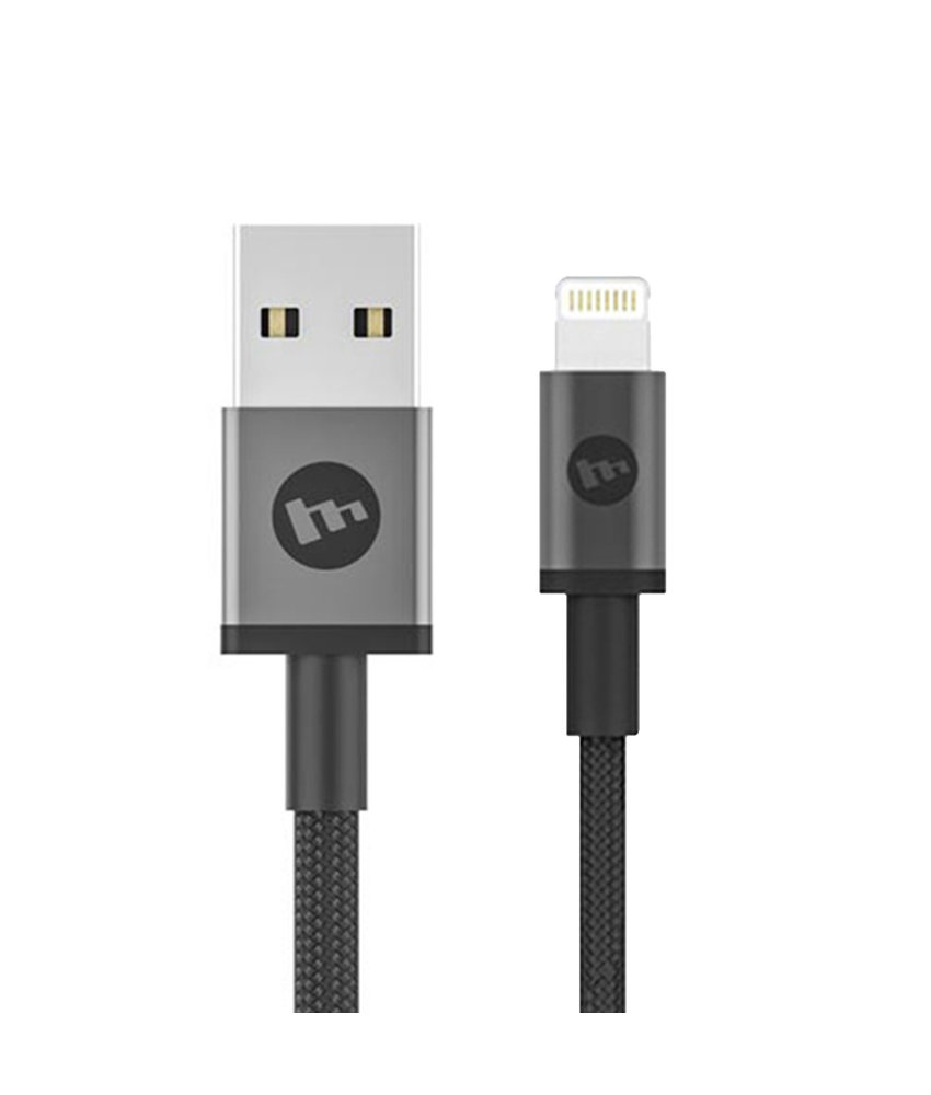 Mophie Lightning naar USB kabel - 9 centimeter - Zwart