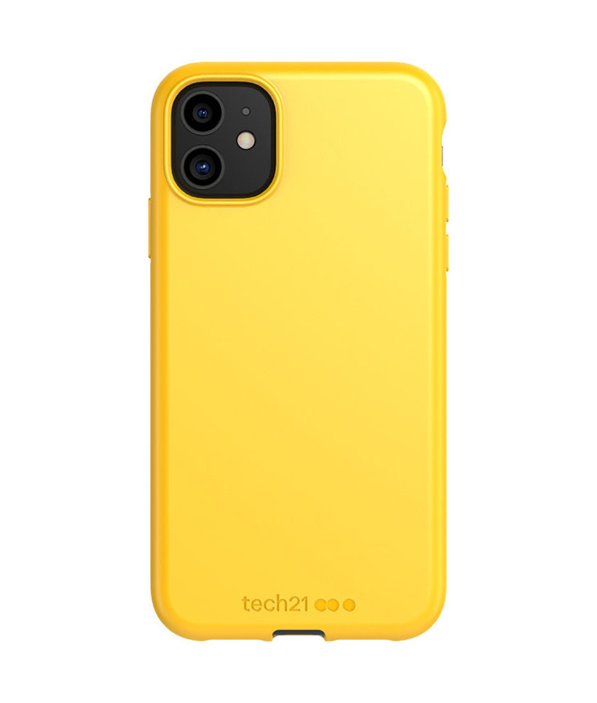 Studio Colour Antimicrobial Backcover iPhone 11 - Yellow