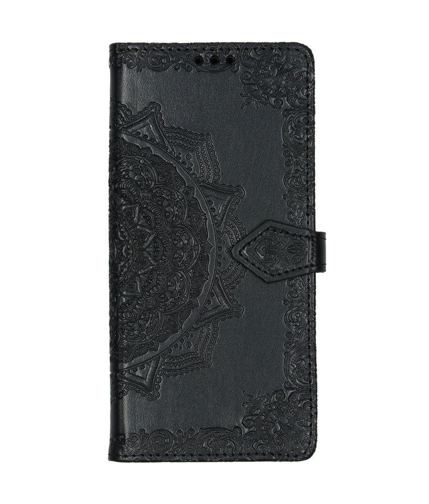 Mandala Booktype Huawei Mate 30 Pro - Zwart