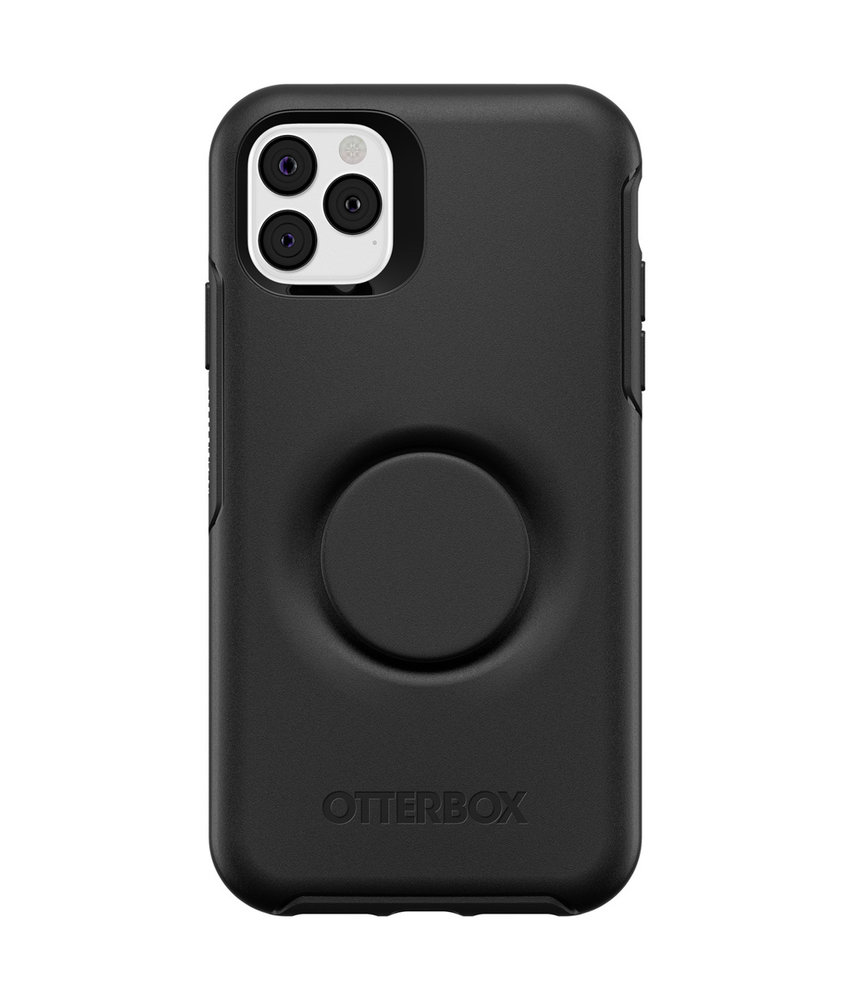 OtterBox Otter + Pop Symmetry Backcover iPhone 11 Pro Max - Zwart