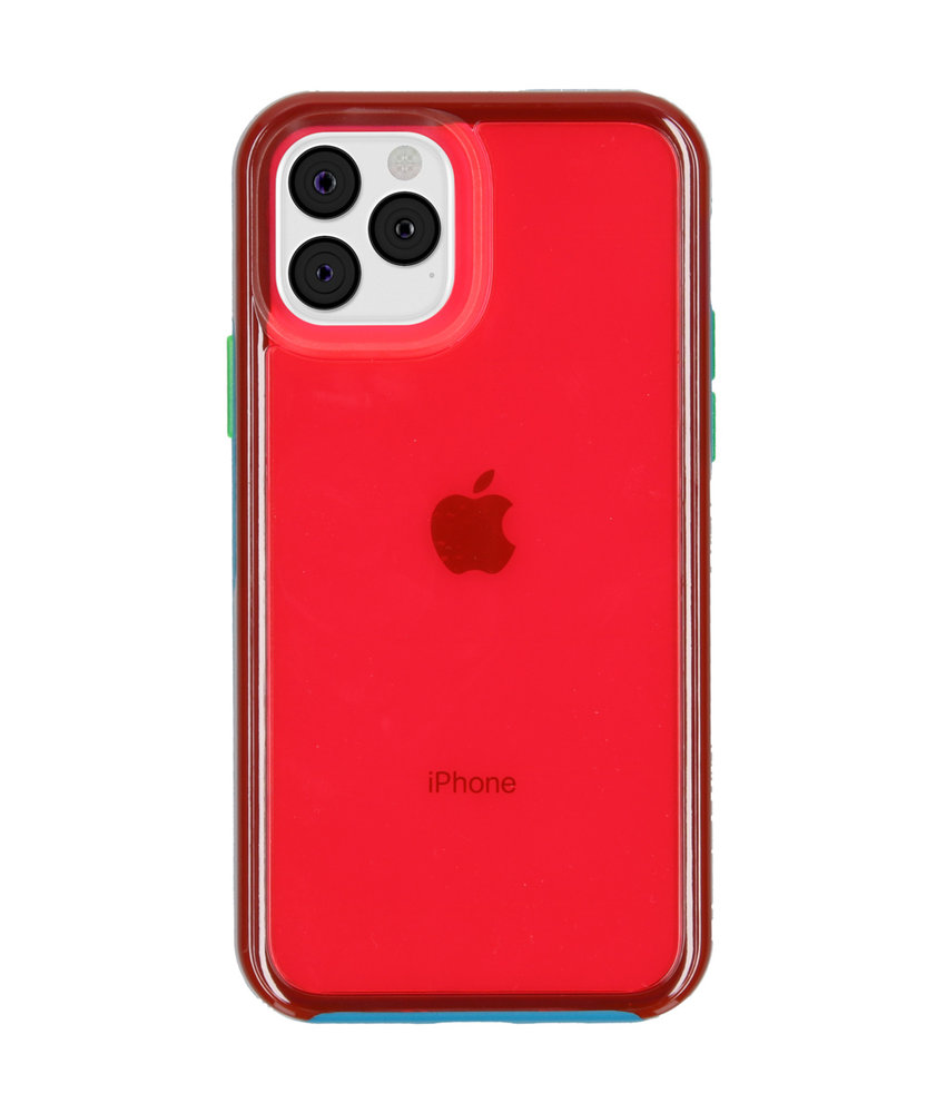 LifeProof Slam Backcover iPhone 11 Pro - Blauw / Roze