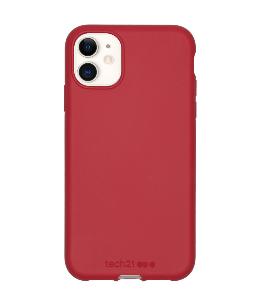 Studio Colour Antimicrobial Backcover iPhone 11 - Terra Red