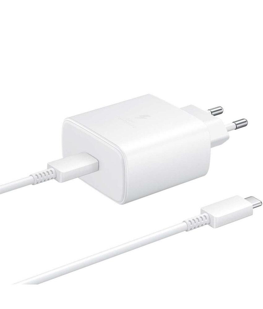 Samsung Super Fast Charging Travel Adapter + USB-C naar USB-C kabel