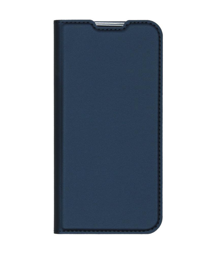 Dux Ducis Slim Softcase Booktype Nokia 2.2 - Donkerblauw