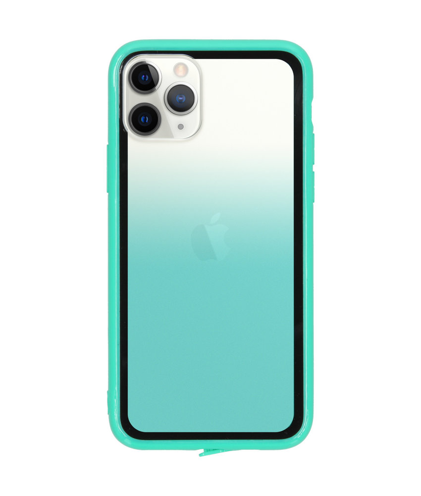 Gradient Backcover iPhone 11 Pro - Groen
