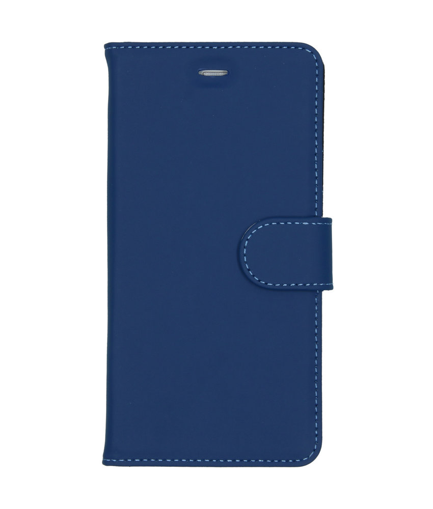 Accezz Wallet Softcase Booktype Huawei P9 Lite - Blauw