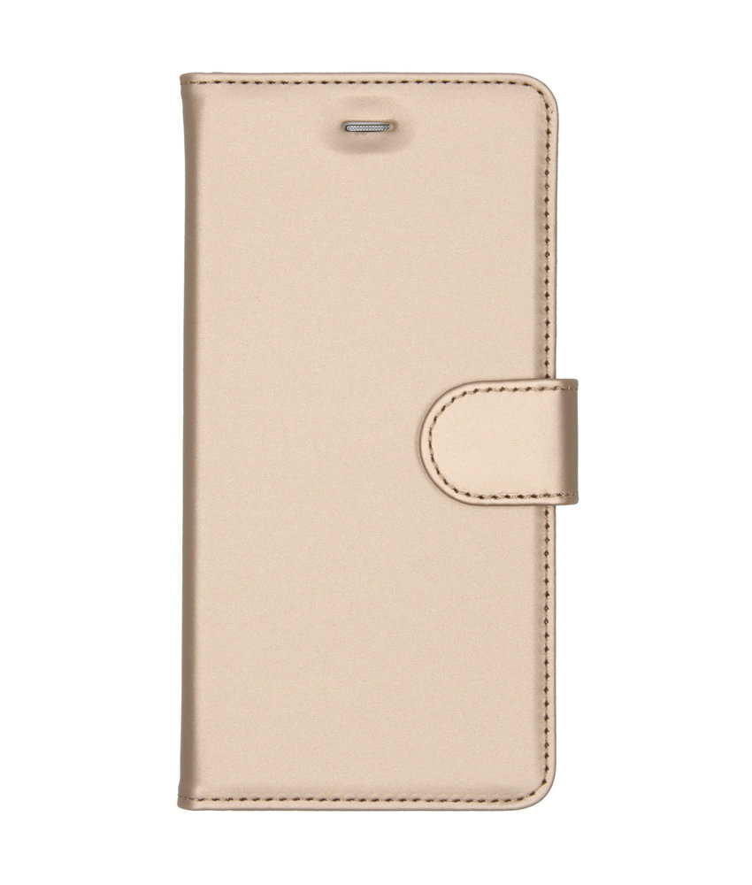 Accezz Wallet Softcase Booktype Huawei P9 Lite - Goud