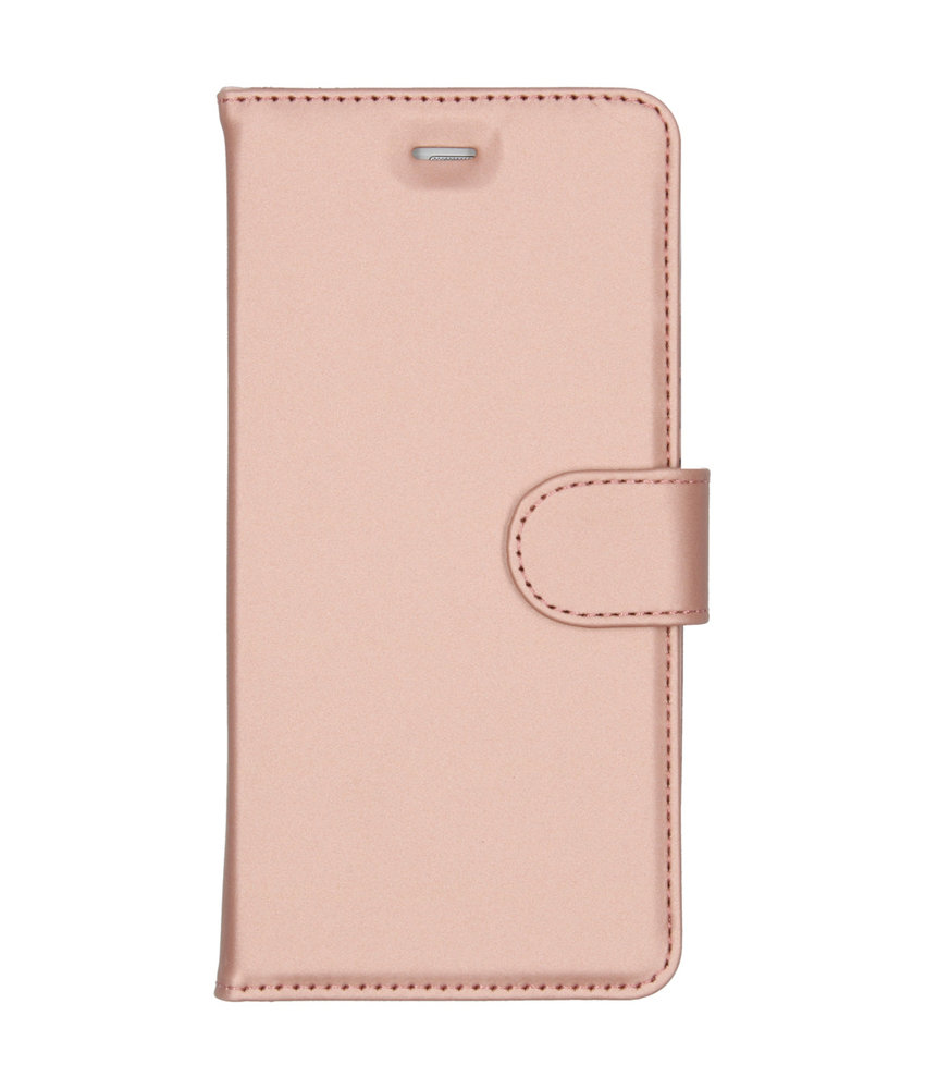 Accezz Wallet Softcase Booktype Huawei P9 Lite - Rosé Goud