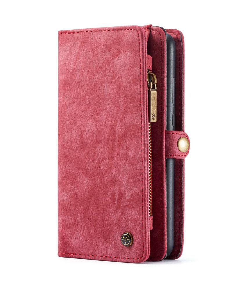 CaseMe Luxe Lederen 2 in 1 Portemonnee Booktype Samsung Galaxy A70
