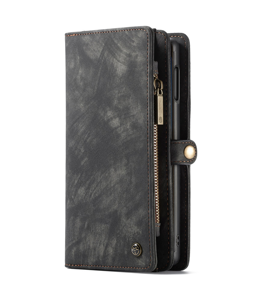CaseMe Luxe Lederen 2 in 1 Portemonnee Booktype Samsung Galaxy S10e