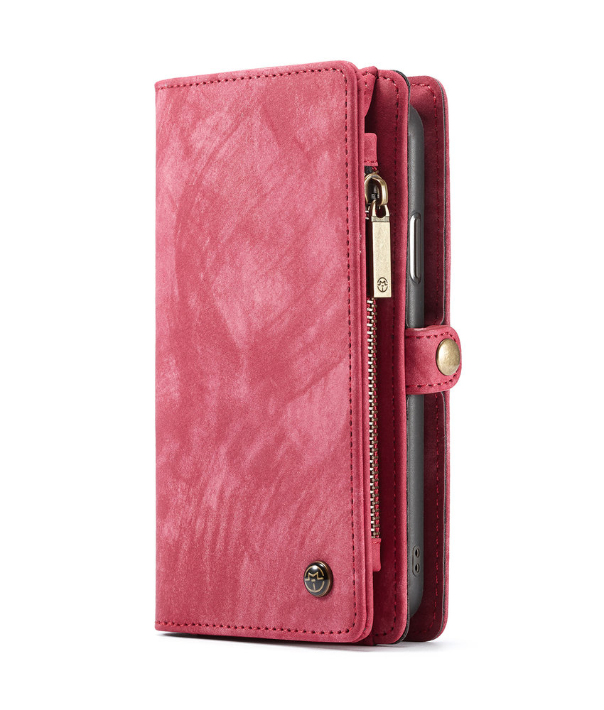 CaseMe Luxe Lederen 2 in 1 Portemonnee Booktype iPhone X / Xs