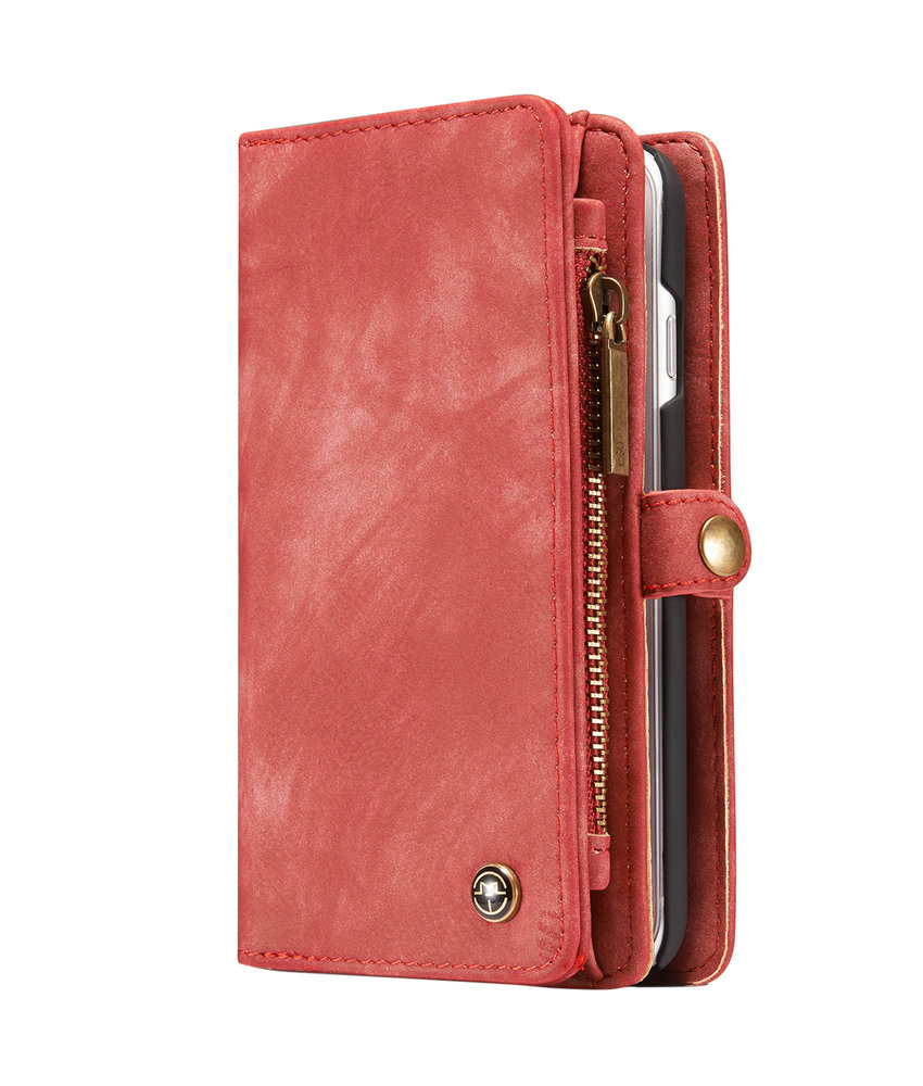 CaseMe Luxe Lederen 2 in 1 Portemonnee Booktype iPhone 8 / 7