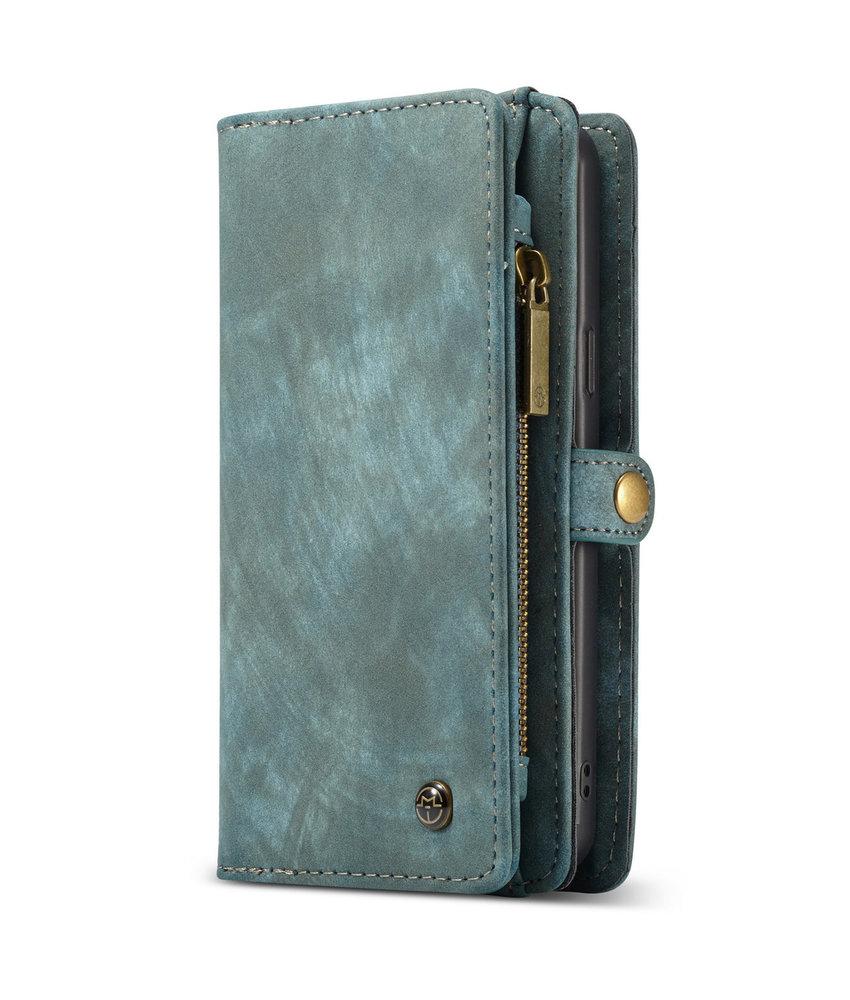 CaseMe Luxe Lederen 2 in 1 Portemonnee Booktype Galaxy S9 Plus