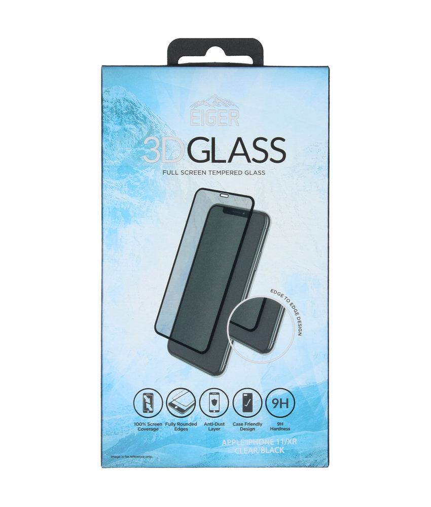 Eiger Edge to Edge Glass Screenprotector iPhone 11 / iPhone Xr