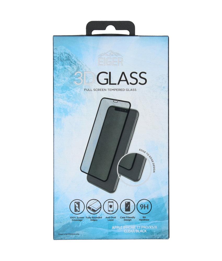 Eiger Edge to Edge Glass Screenprotector iPhone 11 Pro / Xs / X