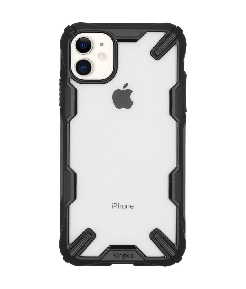 Ringke Fusion X Backcover iPhone 11 - Zwart