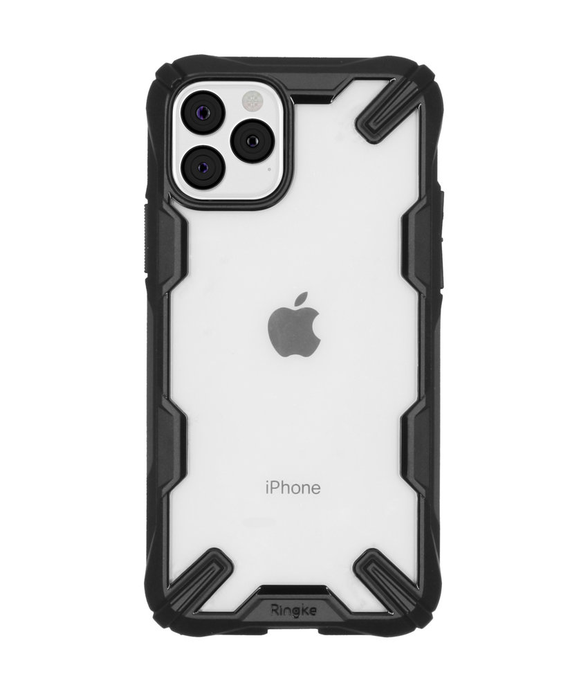 Ringke Fusion X Backcover iPhone 11 Pro - Zwart