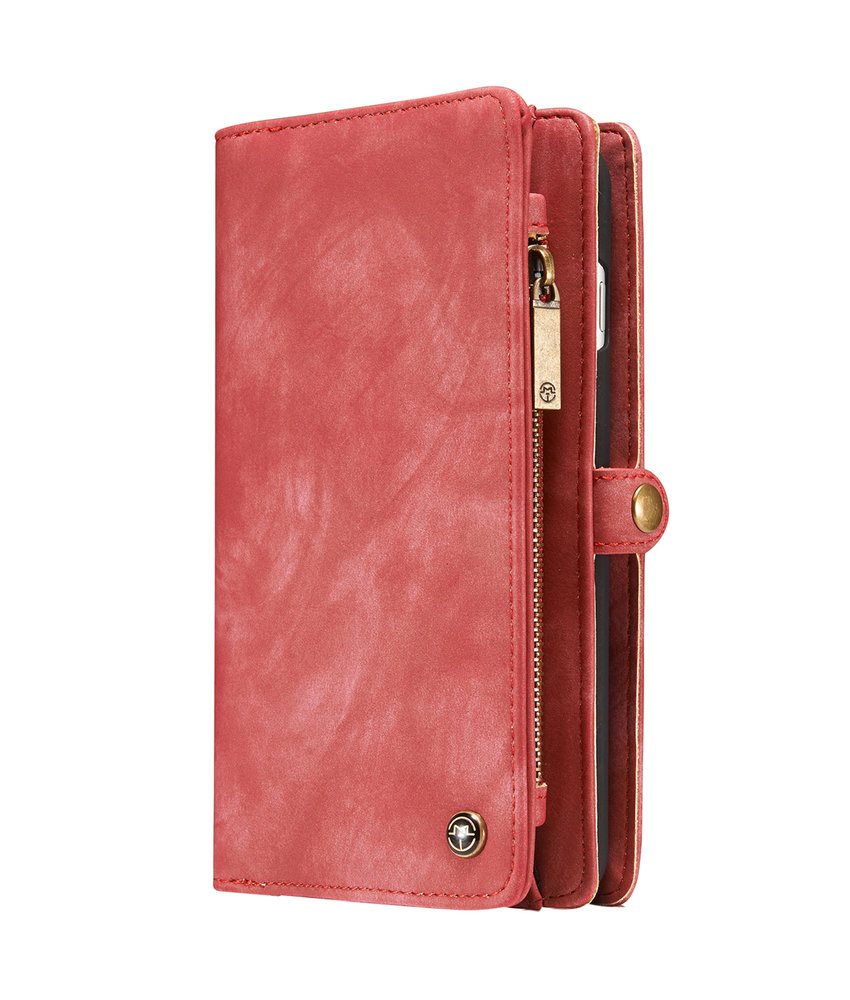 CaseMe Luxe Lederen 2 in 1 Booktype iPhone 8 Plus / 7 Plus