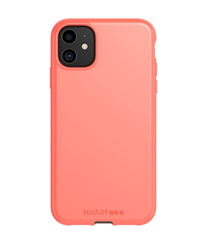 Studio Colour Antimicrobial Backcover iPhone 11 - Coral