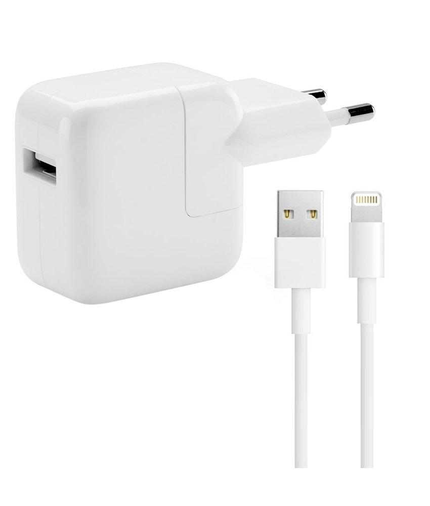 Apple Adapter 2,4A + Orginele Lightning naar USB kabel - 2 meter