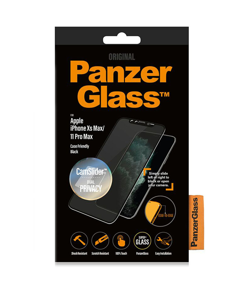 PanzerGlass CamSlider Privacy Screenprotector iPhone 11 Pro Max / Xs Max
