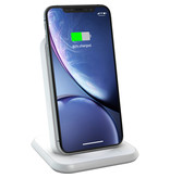Zens Aluminium Stand Wireless Charger 10W - Wit